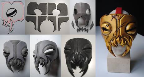 WIP Darkest Dungeon Leper Cosplay - Berserk Mask