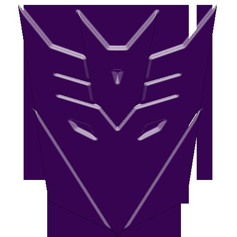 vectored decepticon logo by lestatman84 on deviantart