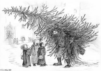 A Walking Tree by TomScribble