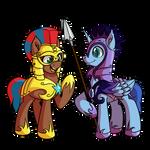 Armor Horses Commission