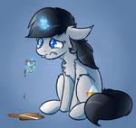 Sad Grey Horse Commission