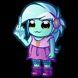 Lyra Team Epic Middle Finger