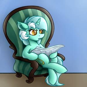 Sitting Disgruntled Human Horse