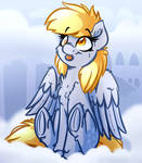 Cute Derp Horse Commission