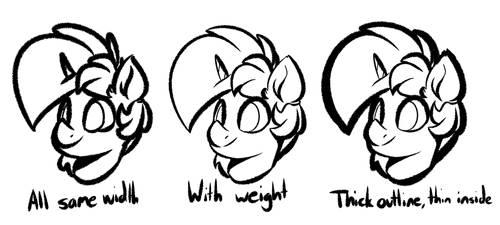 Line Weights Test