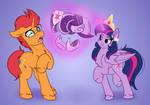 Orange Horse and Twilight Horse Commission