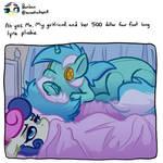 BonBon, Lyra, and Lyra Plushie