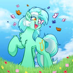 Happy Human Horse Commission by WitchTaunter