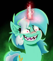 Evil Unicorn Lyra