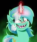 Evil Unicorn Lyra by WitchTaunter
