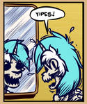 Skeleton Lyra Yipes by WitchTaunter