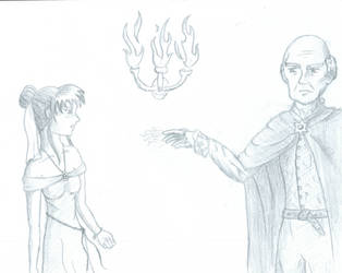 Skyla and Lord Godfrey Meet by Among-Angels