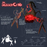 The Scissorcrab by MicaSilverwind