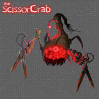 Scissorcrab clean background