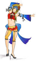Rikku sword dancer fail design by bourgogne