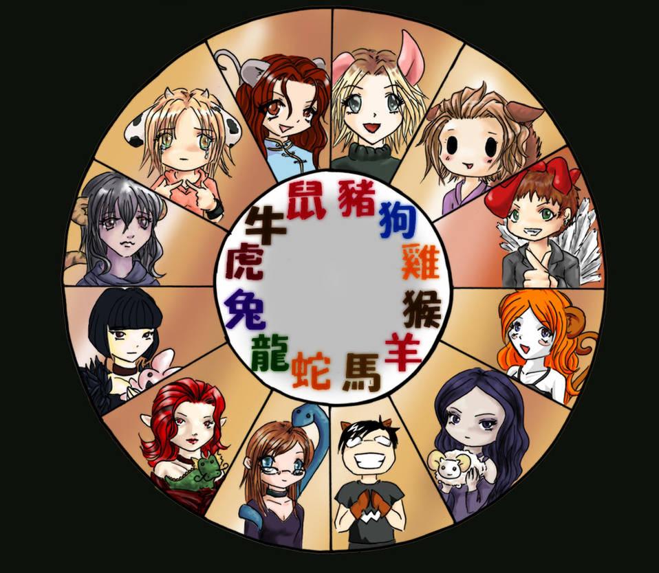 e5ee83efc Chinese Zodiac 2005 by bourgogne on DeviantArt