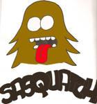 sasquatch logo by madbadger174
