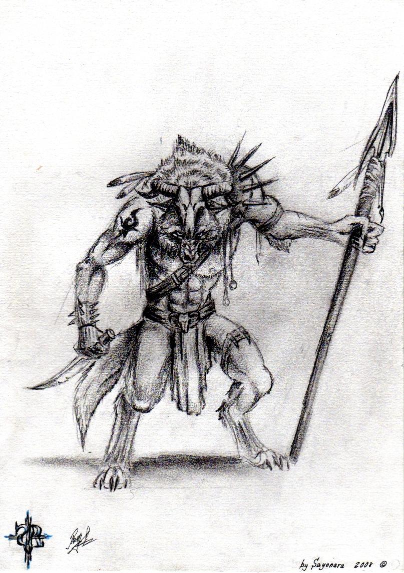 Dark Shaman by ArkaineTequilla