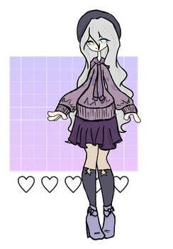 (price has been lowered) Purple Aes Adopt (closed)