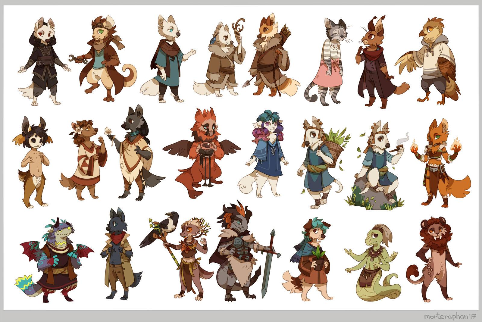 23 cuties by morteraphan