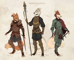 Knights by morteraphan