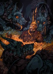 Buried by their Greed by morteraphan