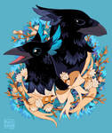 Crowpies by morteraphan