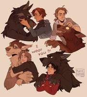 Werewolf vibes ~