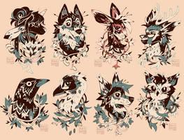 'INK' Portrait Commissions