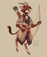 Sable Antelope Hunter