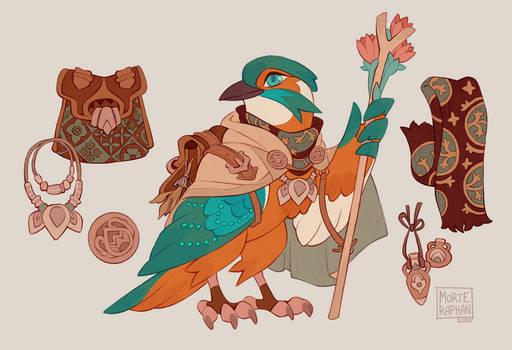 Common Kingfisher Druid