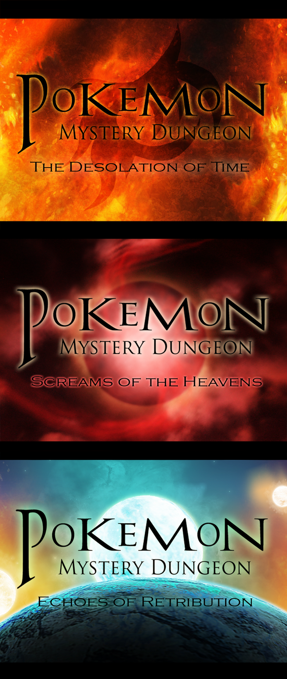 The Pokemon Mystery Dungeon Trilogy by Varkor
