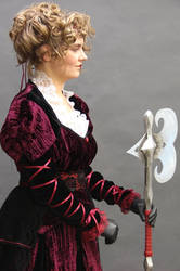 Queen of Hearts Side profile by FrockTarts