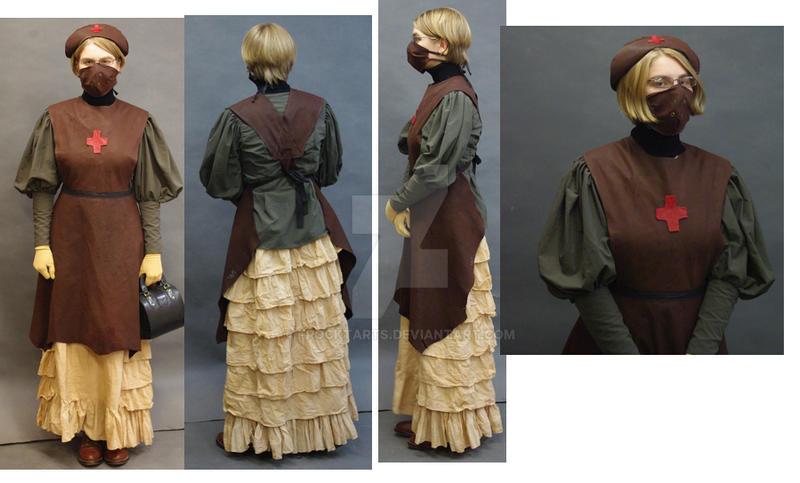 Steampunk Nurse by FrockTarts