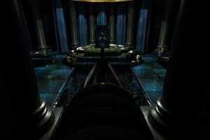 Throne Room of the god Hades by Inspirethem
