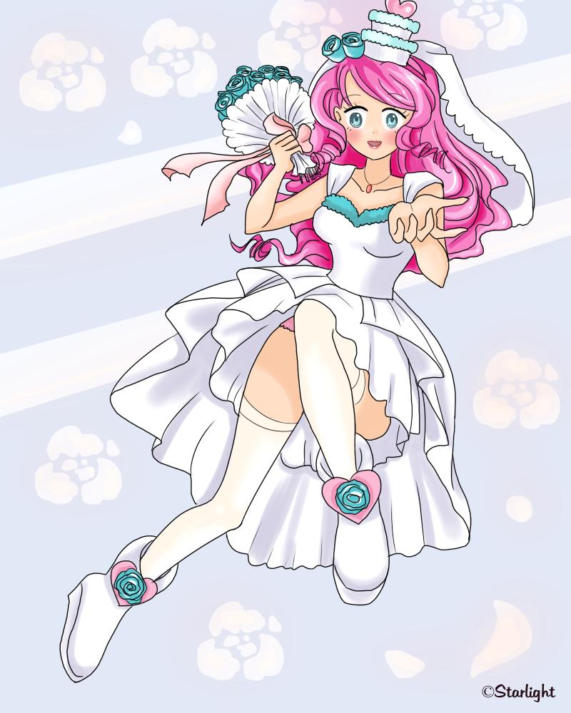 Kawaii Bride by StarlightAlien