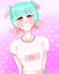 Pastel Girl by StarlightAlien