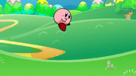 Kirby Smiles! by StarlightAlien