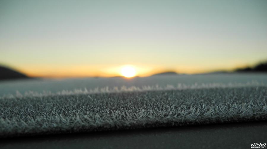 Freezing sunrise by Alpner