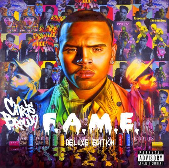 Chris Brown F.A.M.E. Deluxe Edition by MycieRobert on DeviantArt
