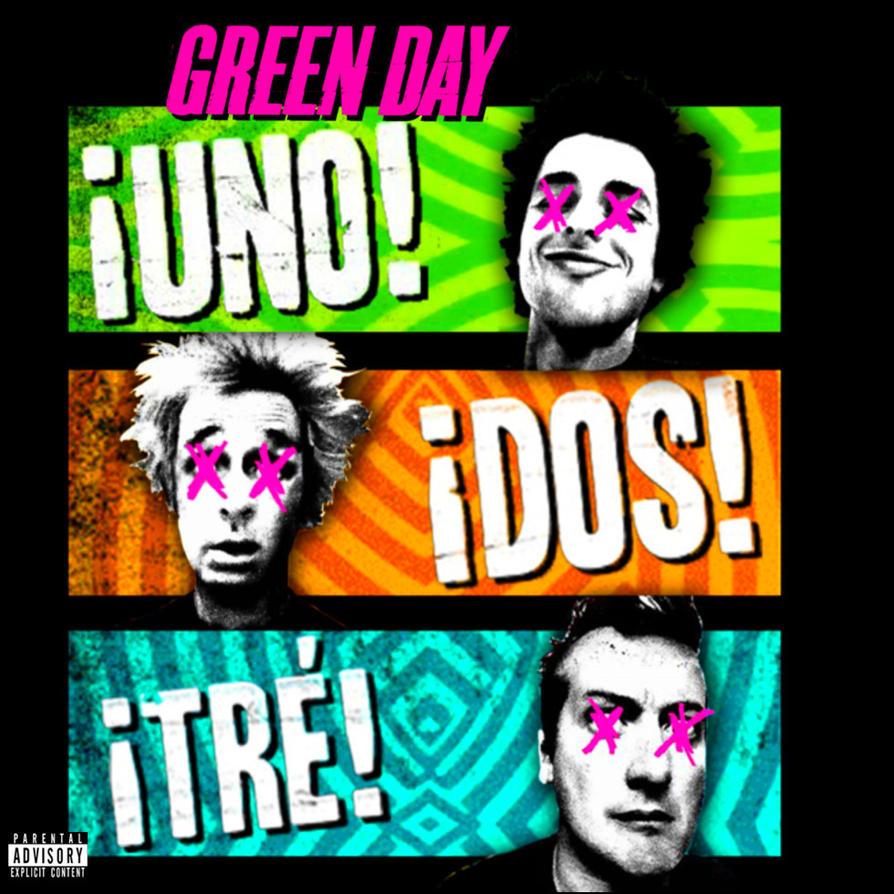 Green Day Dos Album Cover Green Day Uno!Dos!Tre!...