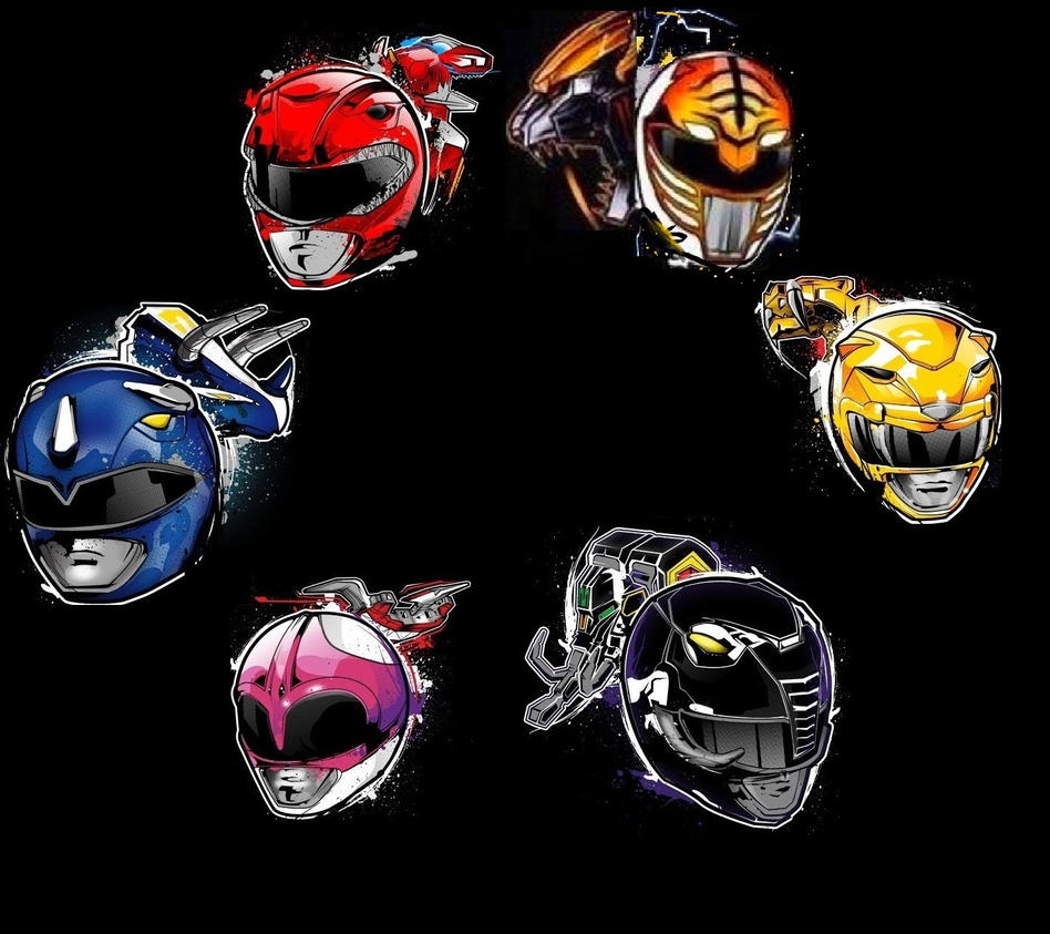 mighty morphin power rangersmycierobert on deviantart