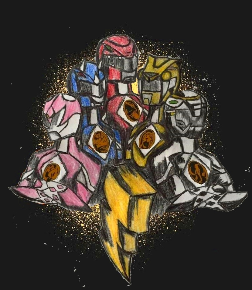 Mighty Morphin Power Rangers Wallpaper: Mighty Morphin Power Rangers: REBORN By MycieRobert On