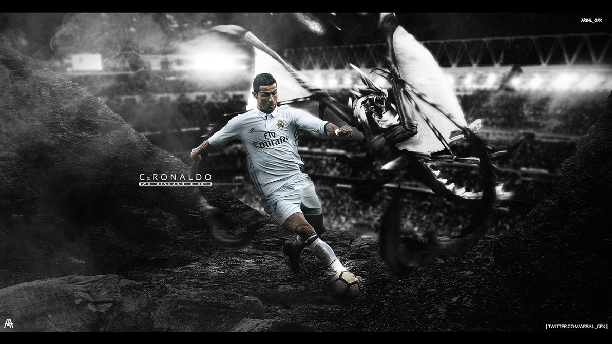 Ronaldo Wallpaper by ArsalGfx