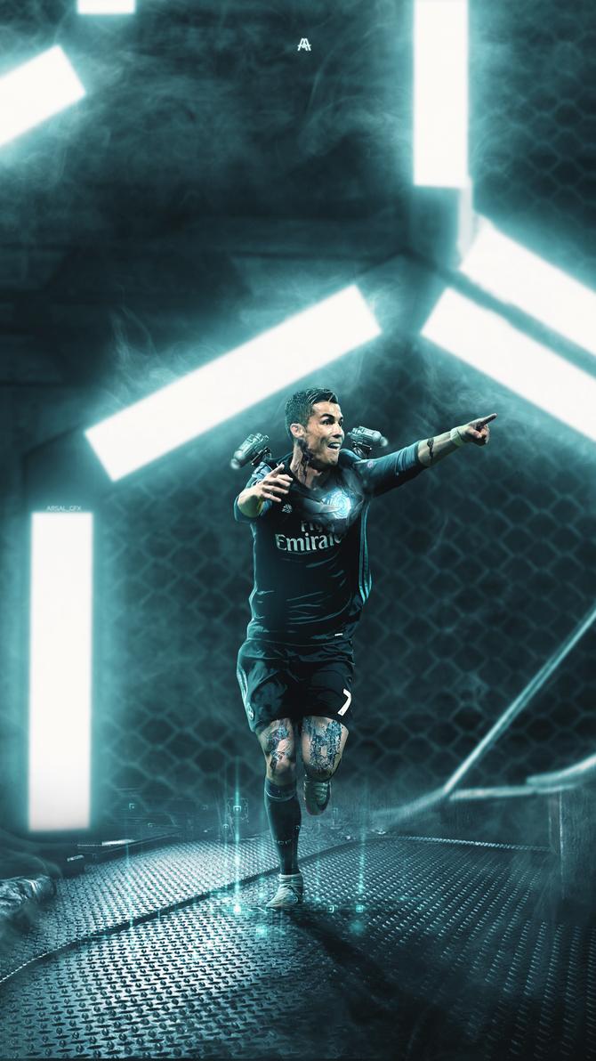 Cristiano Ronaldo Lockscreen by ArsalGfx