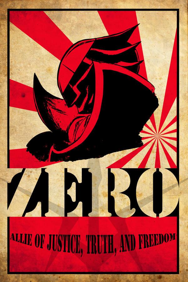 Zero Poster by ericdbz