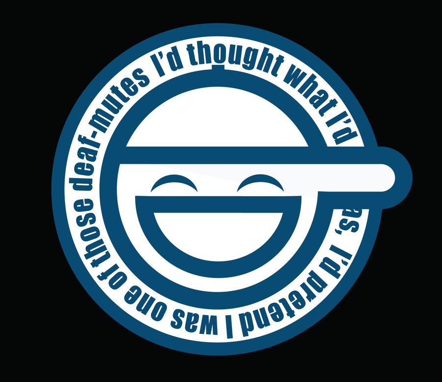 laughing man logo - photo #3