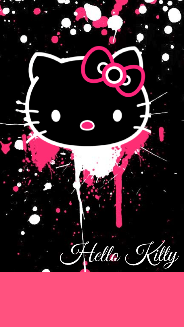 Dripping Hello Kitty Wallpaper By Foreverresa On Deviantart