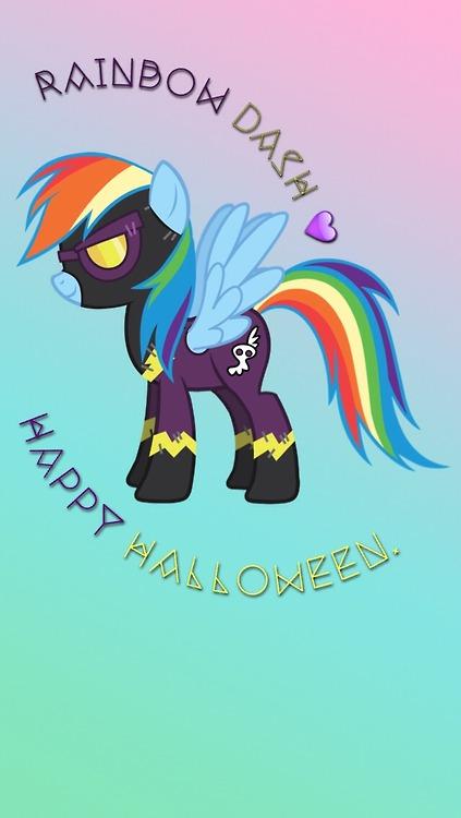 Rainbow Dash My Little Pony Wallpaper by ForeverResa