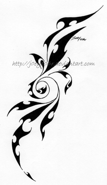 Shoulder Tribal Tattoo